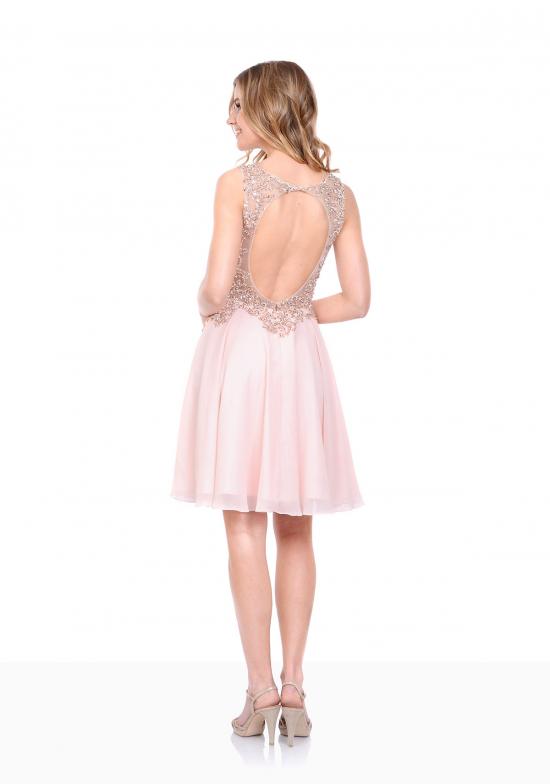 Adeline Pink Chiffon